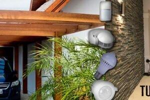 Sensor de movimiento para pasillos y cocheras